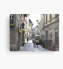 Old Streets of Florence, Italy Metal Print