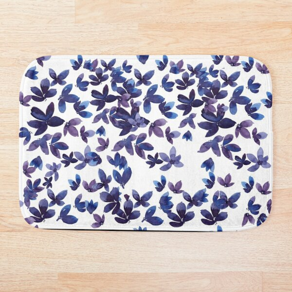 Born to Butterfly Bath Mat