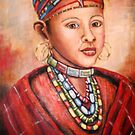 Masai Girl by Pamela Plante