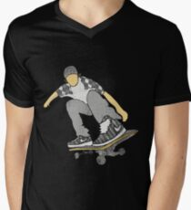 Skateboard 11 Mens V-Neck T-Shirt