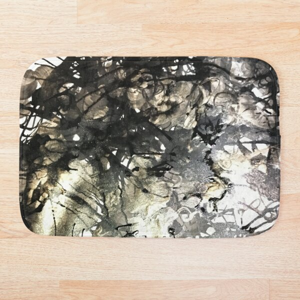 Golden Shine Bath Mat