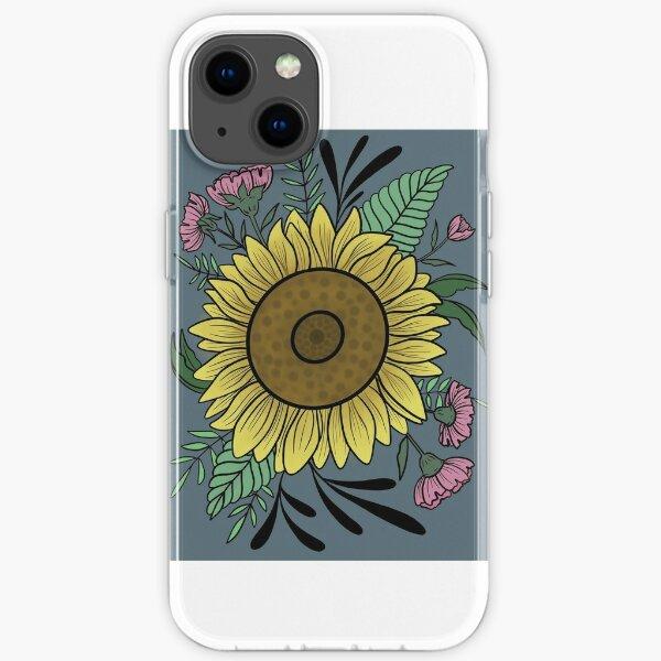 Sunfllower iPhone Soft Case