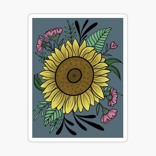 Sunfllower Sticker