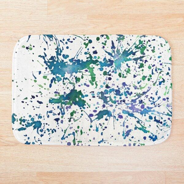 Splatter  Bath Mat