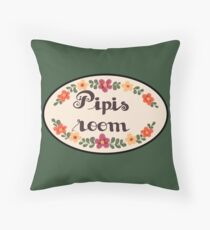 Pipis Room Design - Polygon Griffin McElroy Inspired Throw Pillow