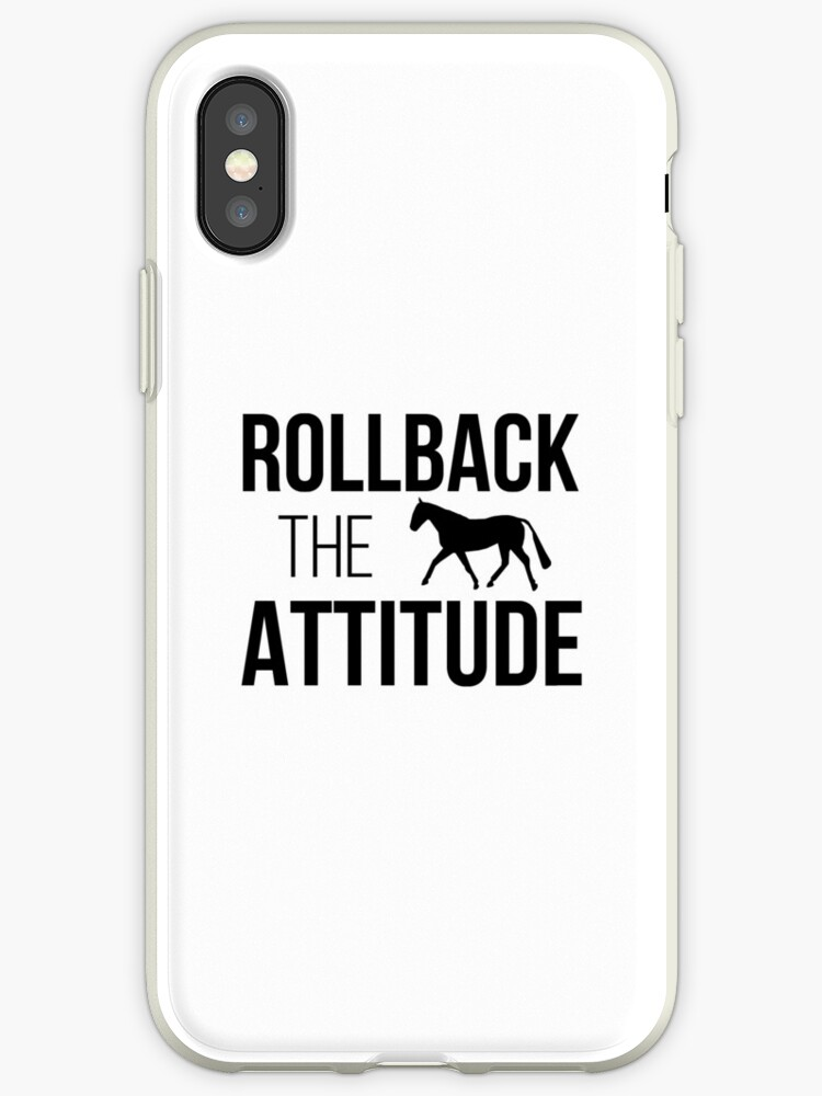 Rollback the Attitude  by Darcy White
