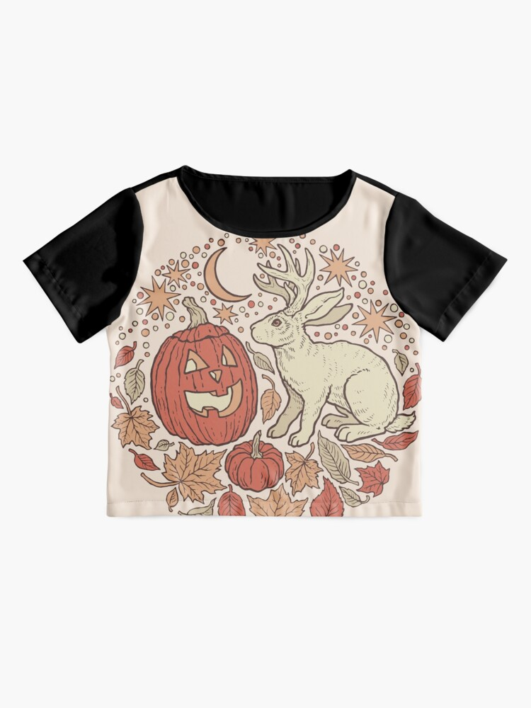 Alternate view of Halloween Friends | Autumn Palette Chiffon Top