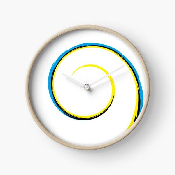 #MOVING #EYE #ILLUSION #Pattern, design, circular, abstract, illustration, art Clock
