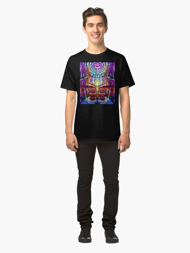 Alternate view of Sacred Visions Classic T-Shirt