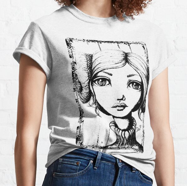 Space Buns - Outline Version Classic T-Shirt