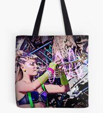 """Music is Magic"" Series: Atomic Frolic Tote Bag"