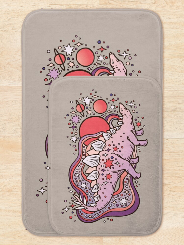 Alternate view of Star Stego | Space Sparkle Palette Bath Mat