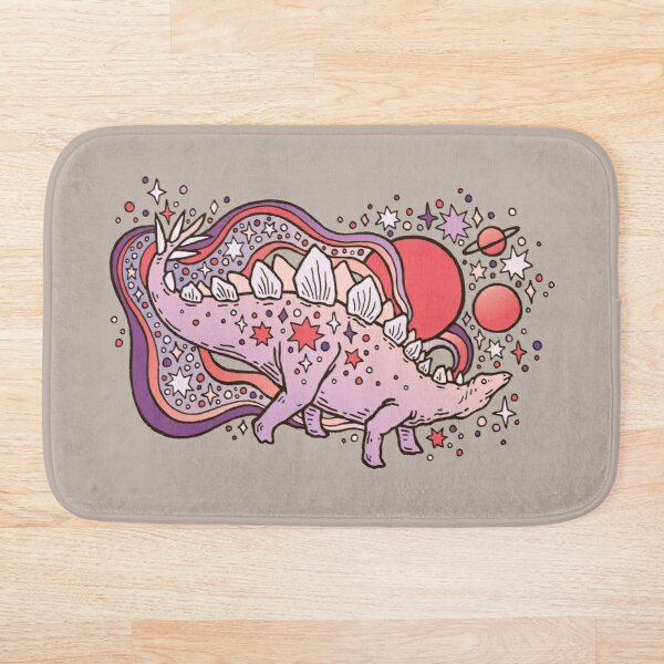 Star Stego | Space Sparkle Palette Bath Mat