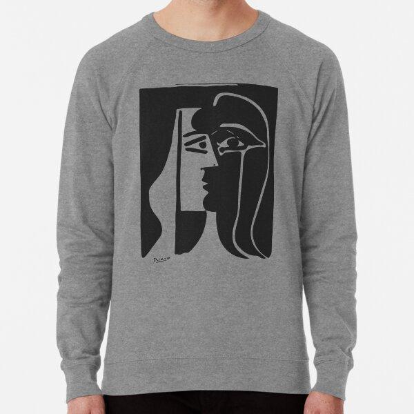 Pablo Picasso Kiss 1979 Artwork Reproduction For T Shirt, Framed Prints Lightweight Sweatshirt