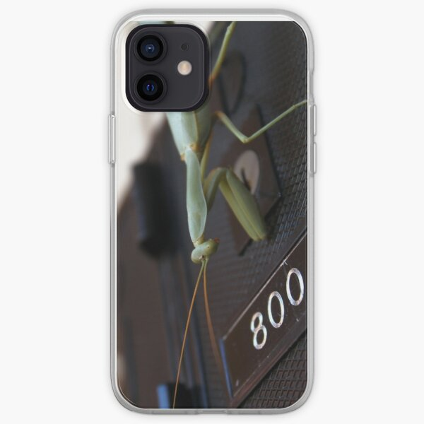 Praying Mantis collects the mail iPhone Soft Case