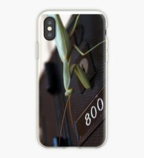 Praying Mantis collects the mail iPhone Case
