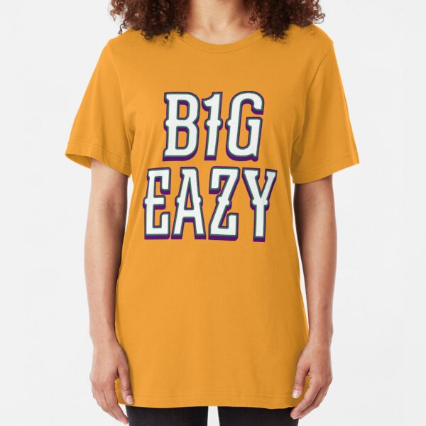 B1G EAZY - Gold/City Slim Fit T-Shirt Unisex Tshirt