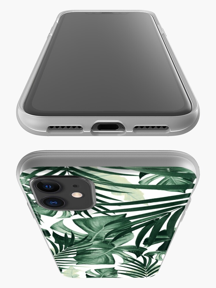 Alternate view of Tropical Jungle Leaves Pattern #4 #tropical #decor #art iPhone Case & Cover
