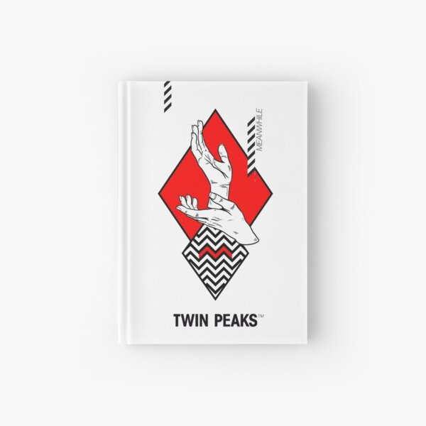 meanwhile. twin peaks. Hardcover Journal