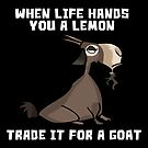 «Goat Lover Funny Life Quoate Goats Pun» de Maljonic