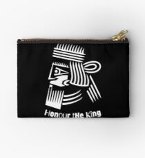 Honor The King  Zipper Pouch