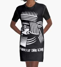 Honor The King  Graphic T-Shirt Dress