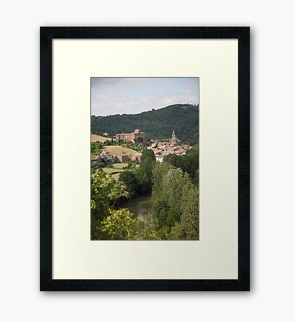 ruralscapes #107, on Le Dourdou Framed Print