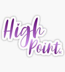 High Point NC City Sticker