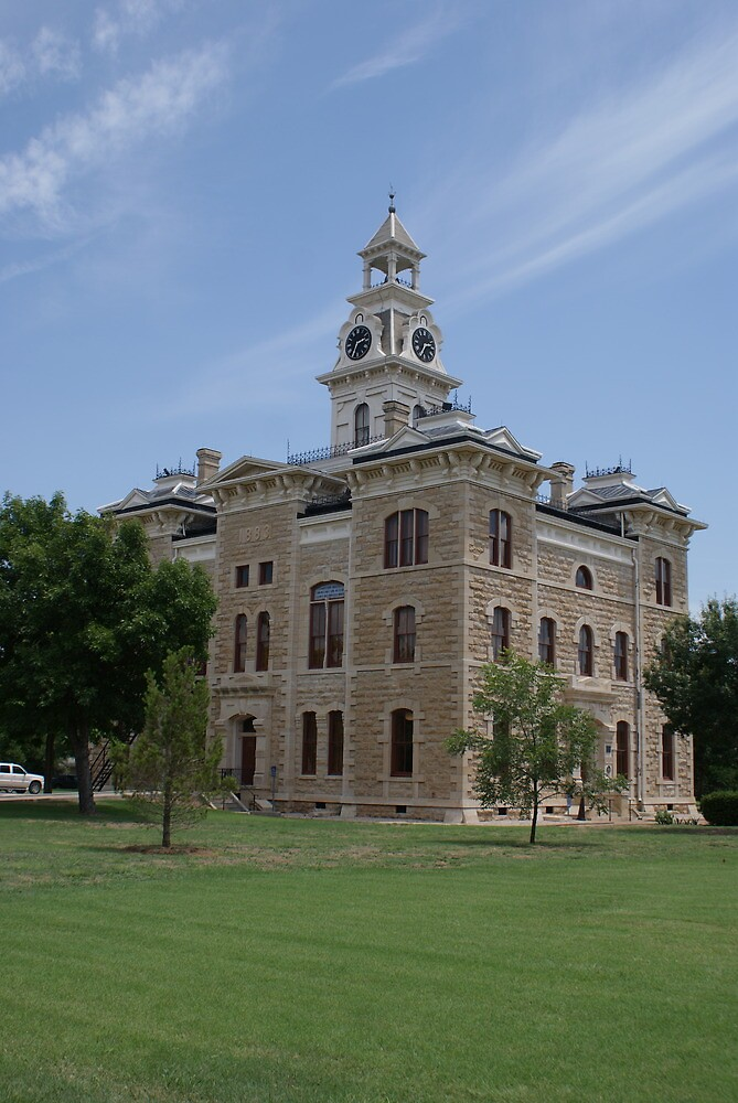 Shackleford County Courthouse, Albany Texas by TxGimGim