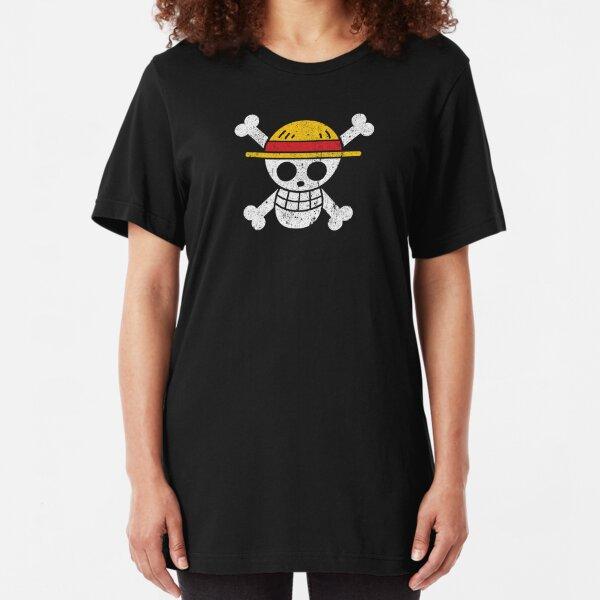 Straw Hat Pirates Jolly Roger Slim Fit T-Shirt