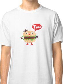 Cheeseburger yum Classic T-Shirt