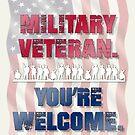 Military Veteran. You're Welcom by BigAl3D