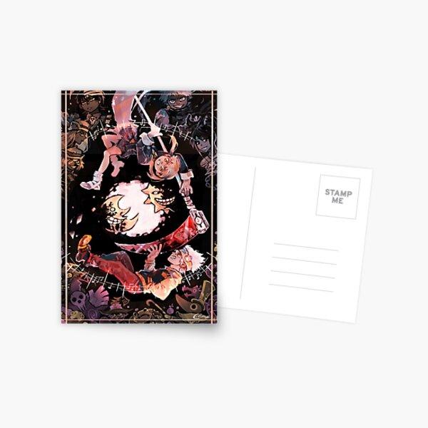 Soul eater poster Postcard