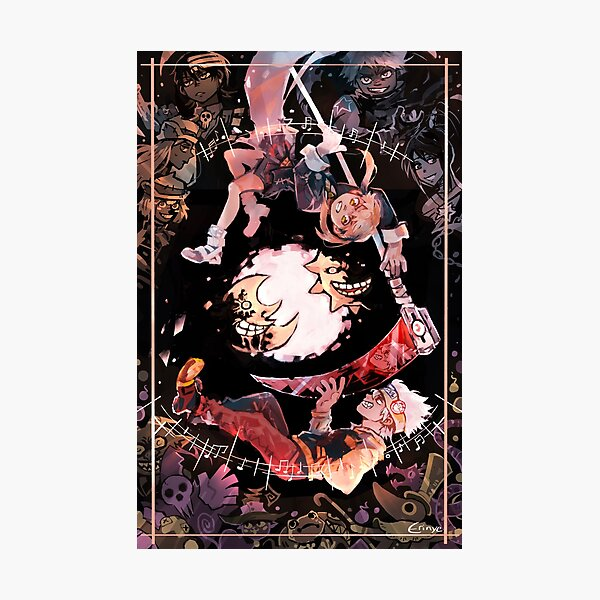 Soul eater poster Photographic Print
