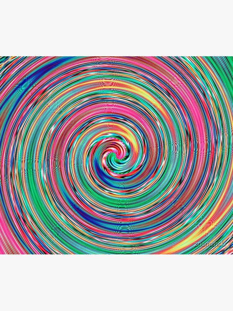 #MOVING #EYE #ILLUSION #Pattern, design, circular, abstract, illustration, art by znamenski
