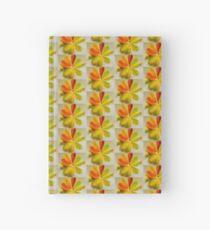 Glazed Leaves  Hardcover Journal