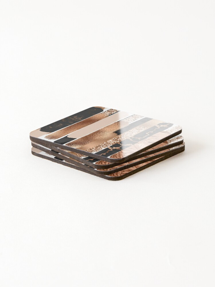 Alternate view of Copper Coasters (Set of 4)