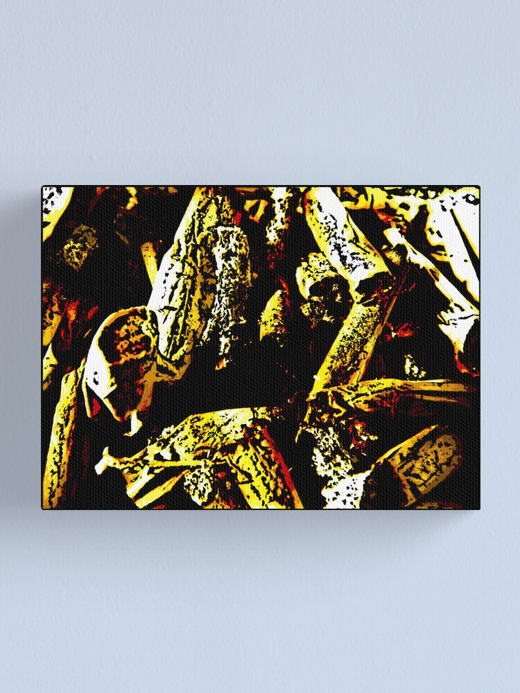 Alternate view of Ashes To Ashes Canvas Print