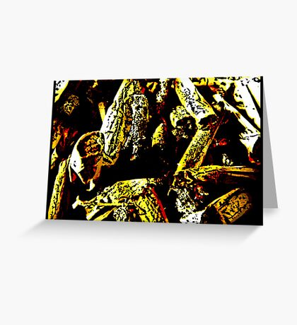 Ashes To Ashes Greeting Card