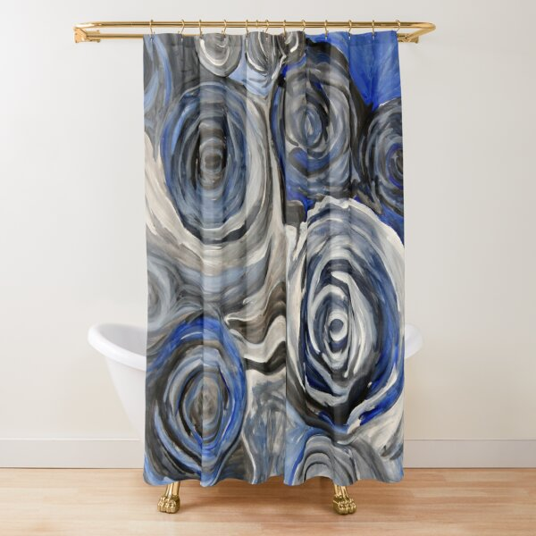 Surging & Rushing Shower Curtain