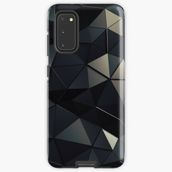 Polygon Noir Samsung Galaxy Tough Case