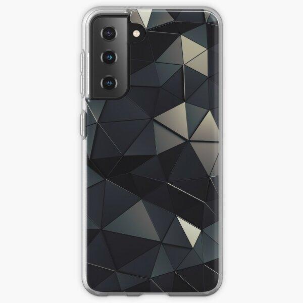 Polygon Noir Samsung Galaxy Soft Case