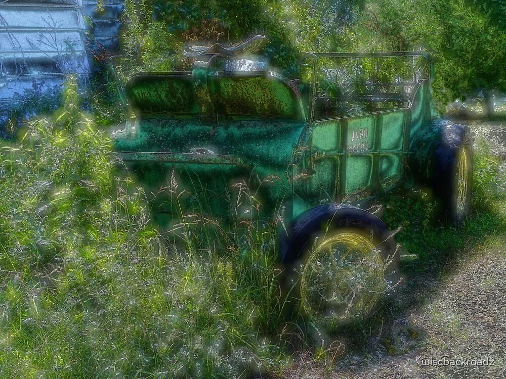 Retired Farm Wagon by wiscbackroadz