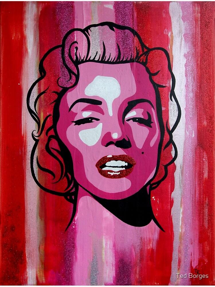 Marilyn Monroe Portrait by tedborges