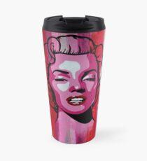 Marilyn Monroe Portrait Travel Mug