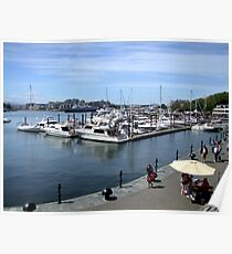Inner Harbour, Victoria Poster