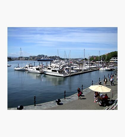 Inner Harbour, Victoria Photographic Print