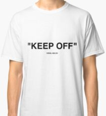 Off White Ikea Keep Off Rug Black/White Virgil Abloh - Christmas St Valentines Day New Year Tshirt Gift Idea for Boys Girls Women Men Classic T-Shirt