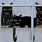 CAT WATCHERS by RoseMarie747