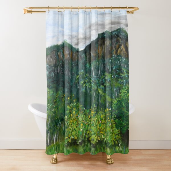 Lansdowne Escarpment Shower Curtain